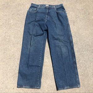 Vintage baggy fit guess jeans